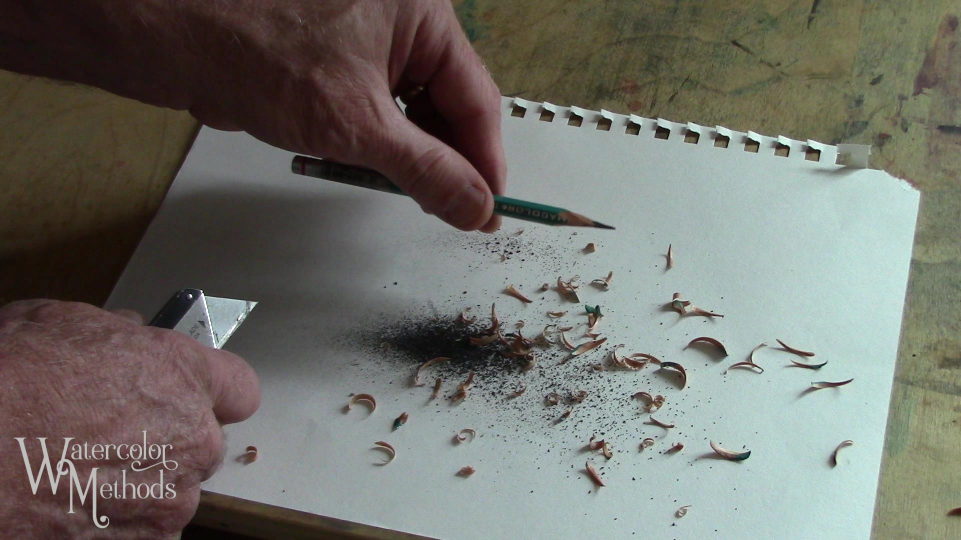 How To Sharpen Your Pencils for Drawing