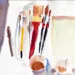 Watercolor Painting Supplies & Materials