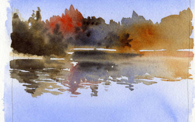 Two Quick Easy Ways To Paint Realistic Looking Water In Watercolor