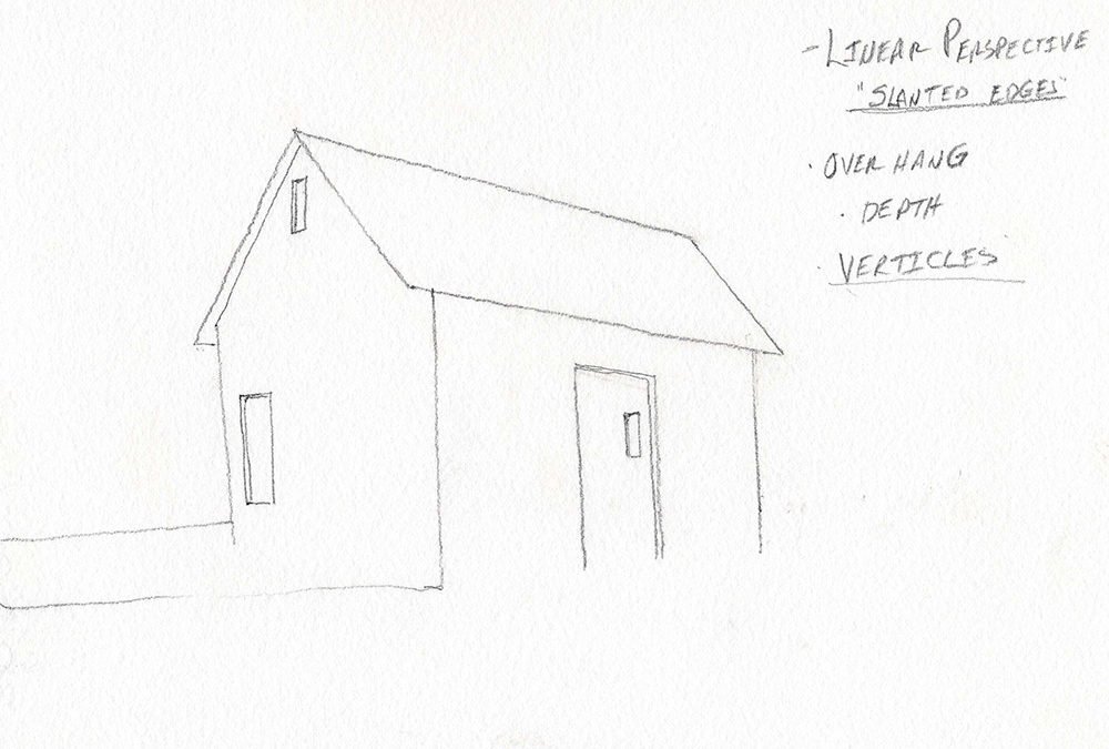 Drawing Buildings So They Look Right – Drawing Lesson