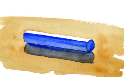 Painting Cylinders In Watercolor