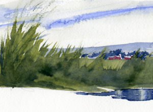 How To Paint Weeds and Tall Grass - Watercolor Painting Lesson