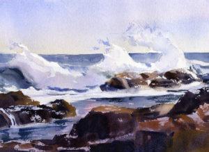 Live Paint Along - Seascape