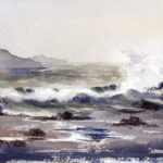 Paint A Fog and a Seascape - Watercolor Painting Lesson
