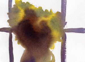Watercolor Sketch Lesson With Sunflowers