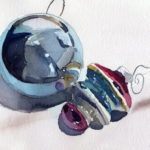 Paint Holiday Ornaments Online Watercolor Painting Lesson
