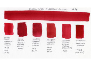 Permanent Alizarin Crimson Watercolor