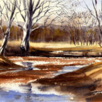 Paint The Early Spring Landscape