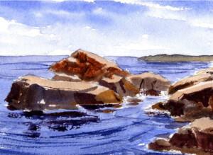 Paint A Quiet Seascape