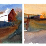 Value To Color - Color Studies For Morning and Evening Light